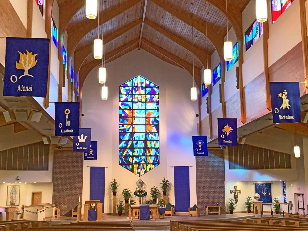 Banners Featured in Florida Catholic