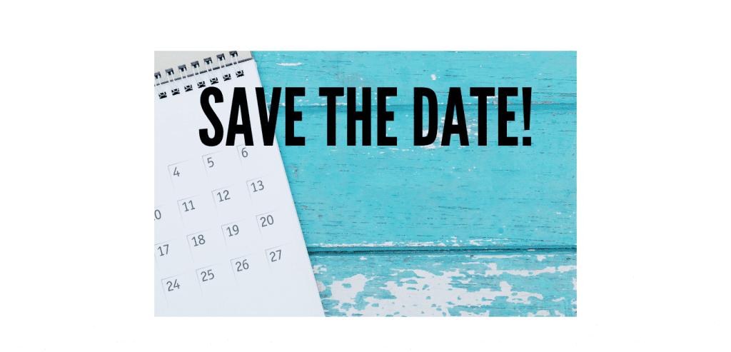 Upcoming Calendar Dates