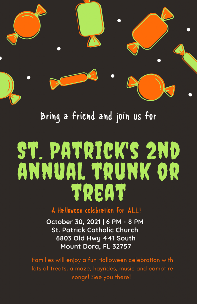 Fall Festival and Trunk or Treat